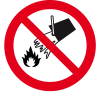 do_not_extinguish_with_water_prohibition_sign