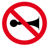 do_not_use_horn_prohibition_sign